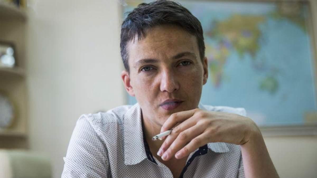 """Савченко засвітилась в """"ДНР"""", – ЗМІ терористів"""