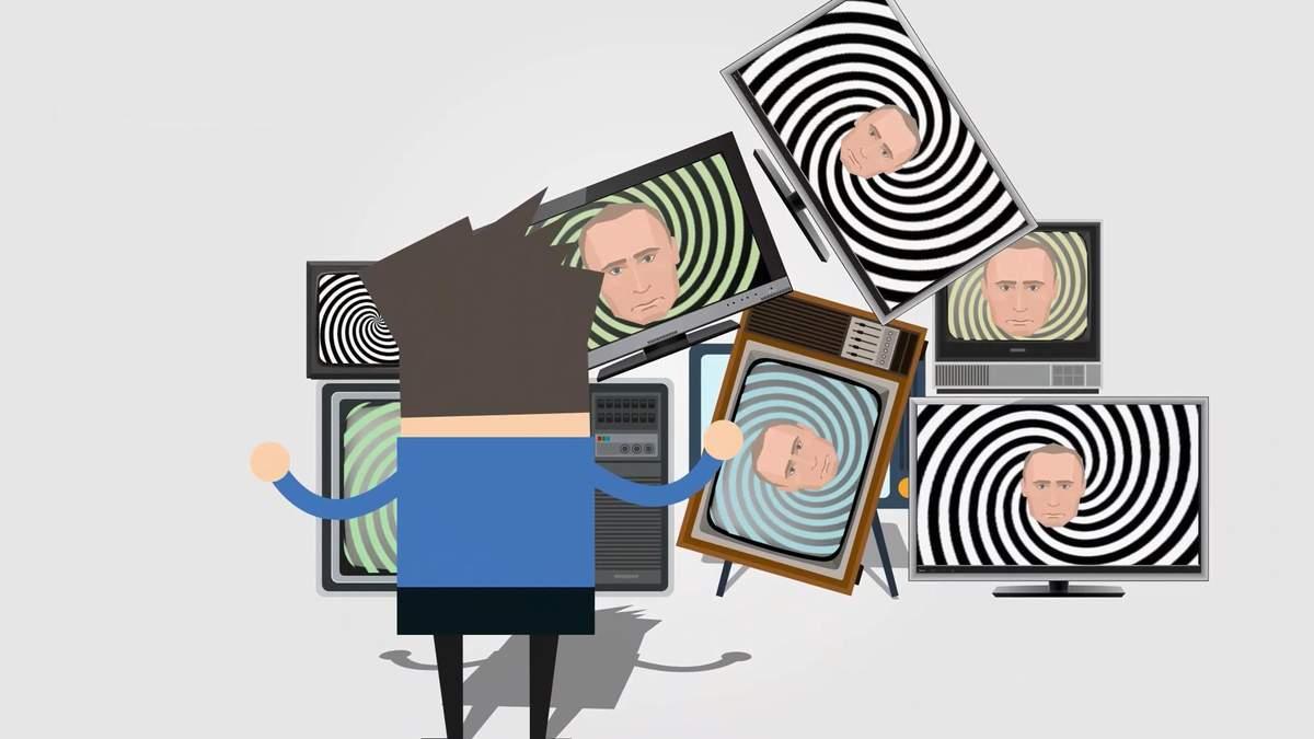 Сколько украинцев продолжают смотреть российские телеканалы: необычные данные