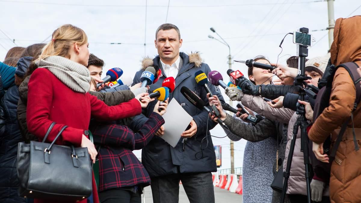 Кличко: Рух на Шулявському шляхопроводі відкриють в обмеженому режимі