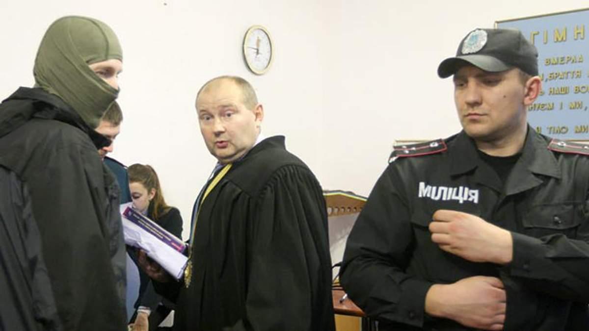 Опального судью Чауса задержали в Молдове