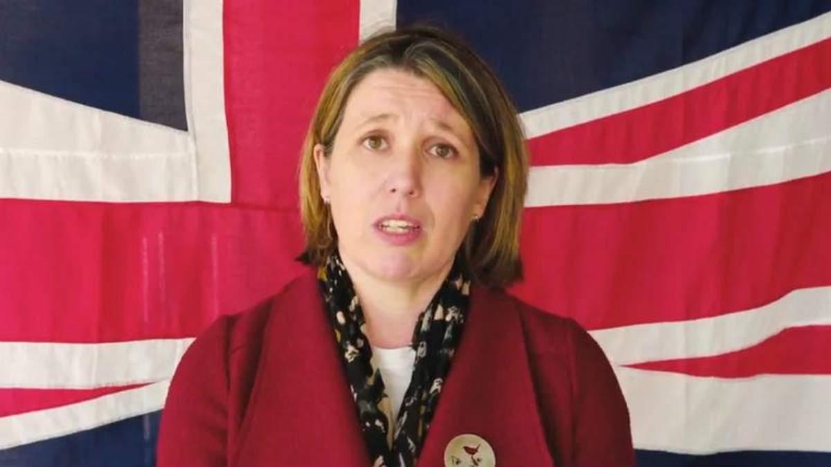 Посол Великобритании присоединилась к флешмобу в поддержку ветеранов АТО