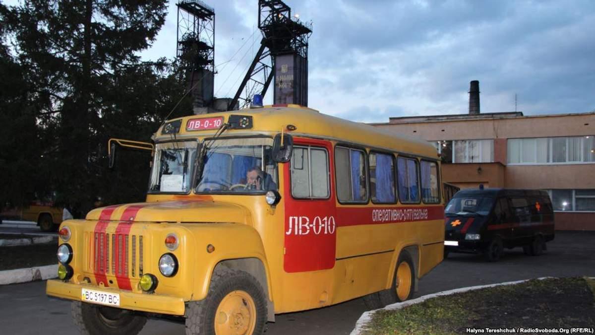 """Спасатели на шахте """"Степная"""""""