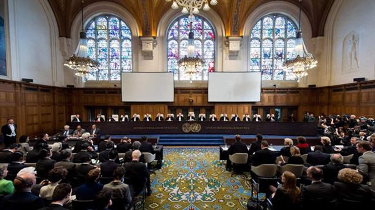 Як Росія цинічно пояснює постачання важкого озброєння бойовикам у Міжнародному суді ООН