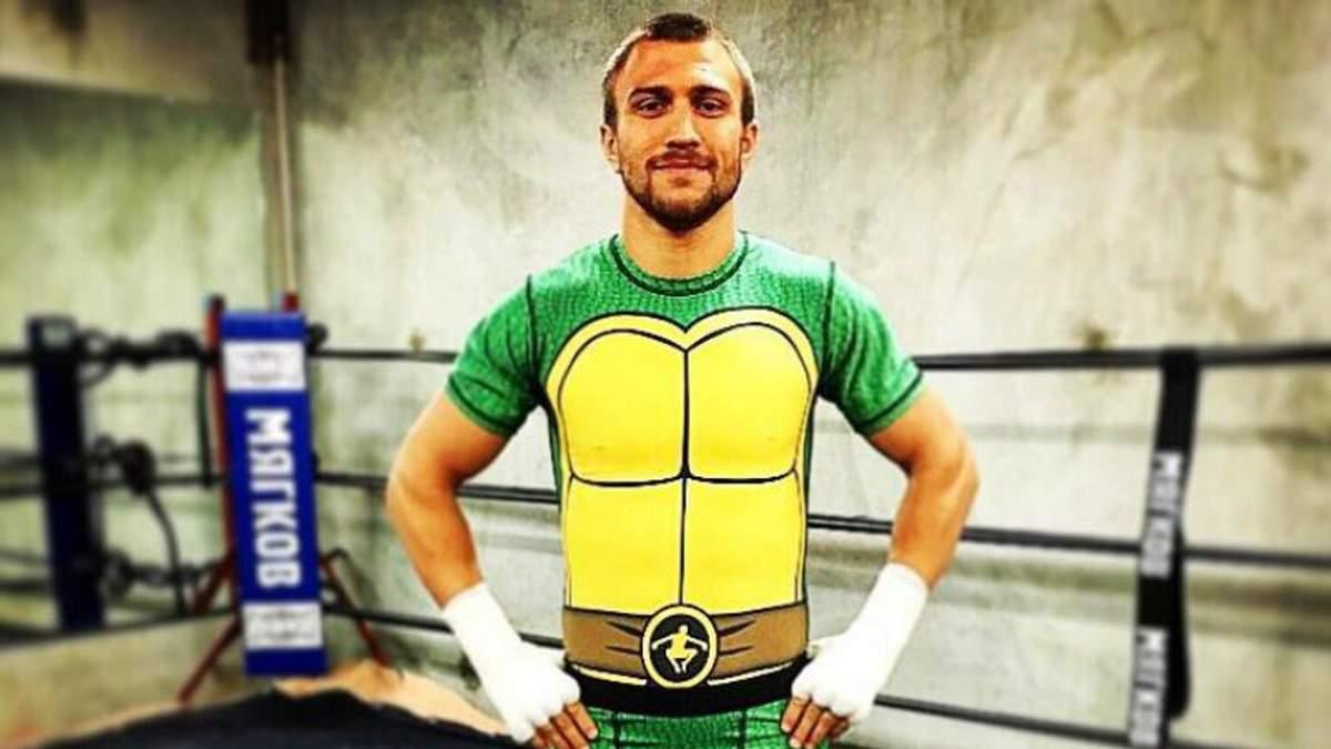 Відомий український боксер перетворився на черепашку-ніндзя