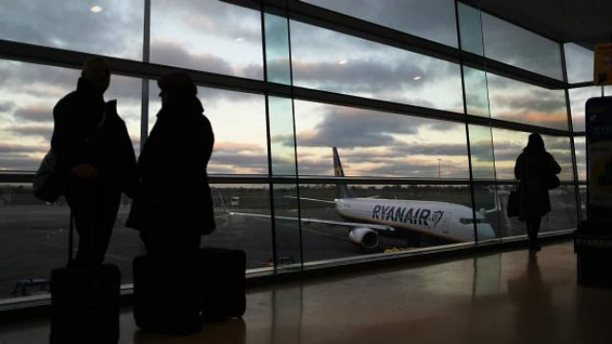 Літак Ryanair вперше приземлився в Україні