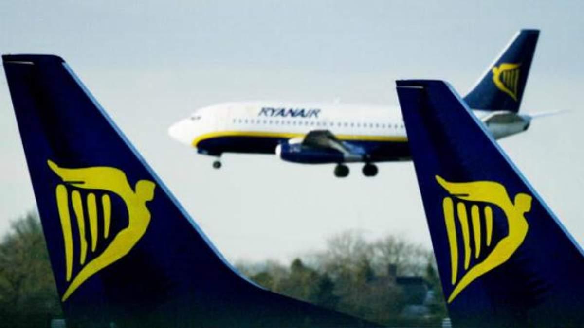 Ryanair объявил, куда будет летать из Украины