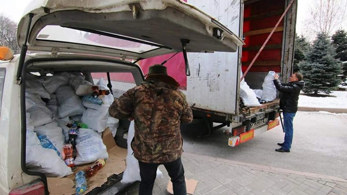 Гуманітарна допомога у зону АТО