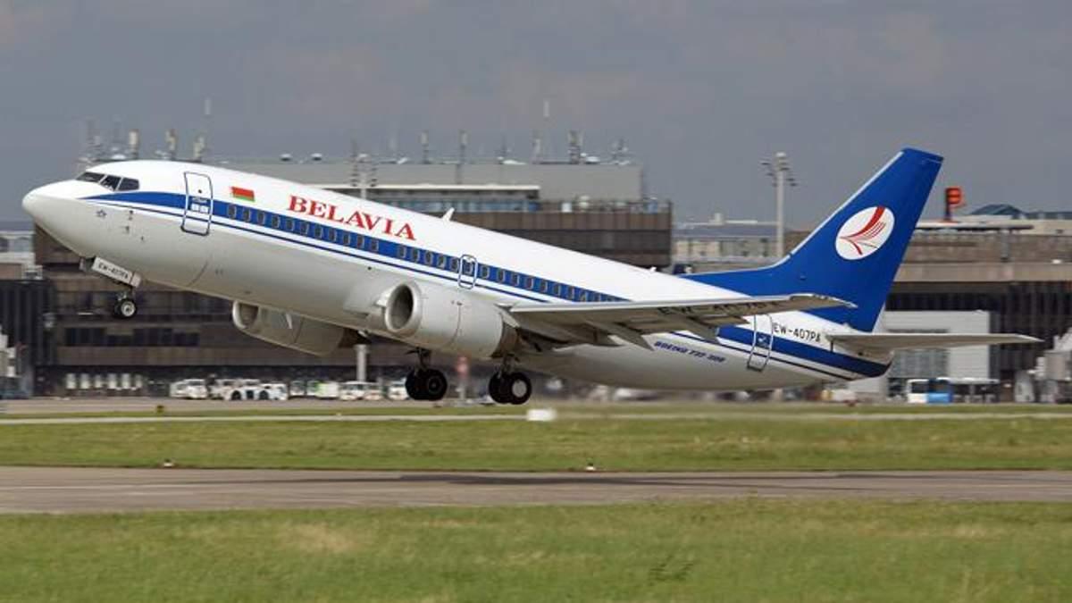 """Літак """"Белавіа"""""""