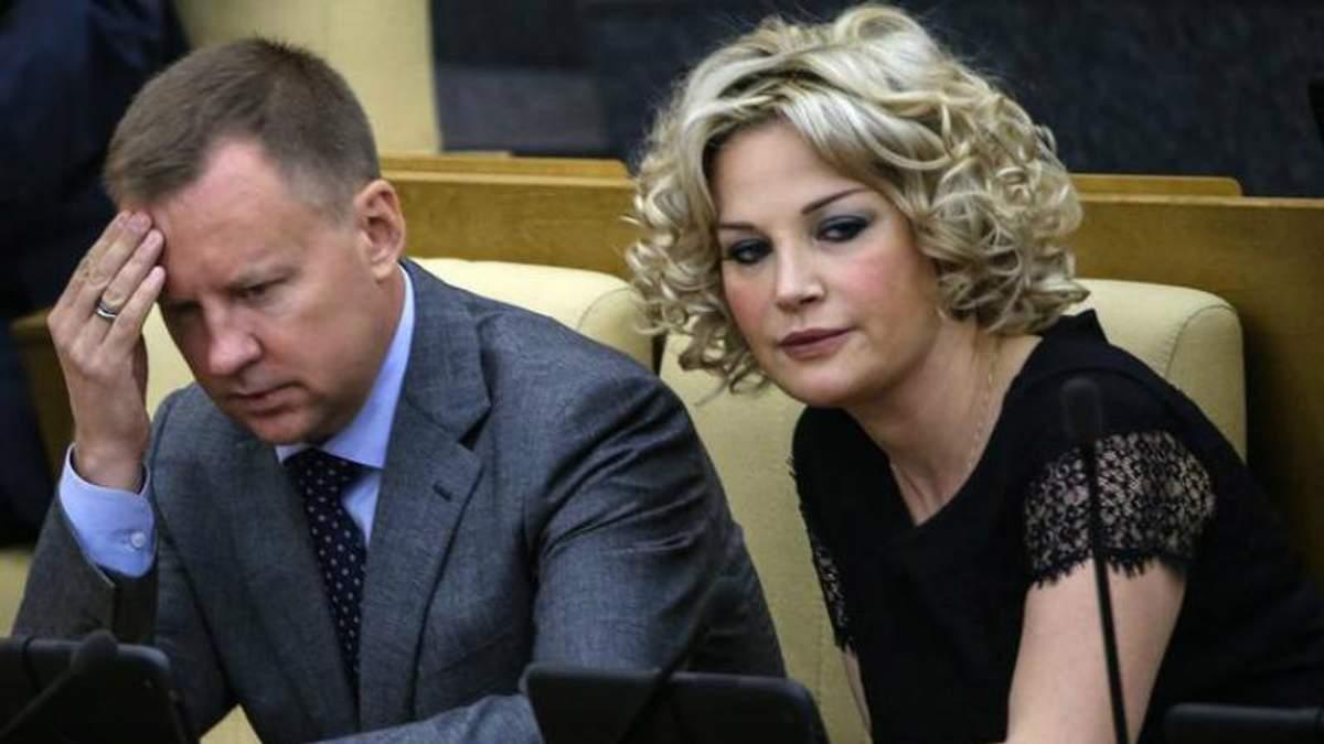 Максакова свое время тоже была депутатом Госдумы России