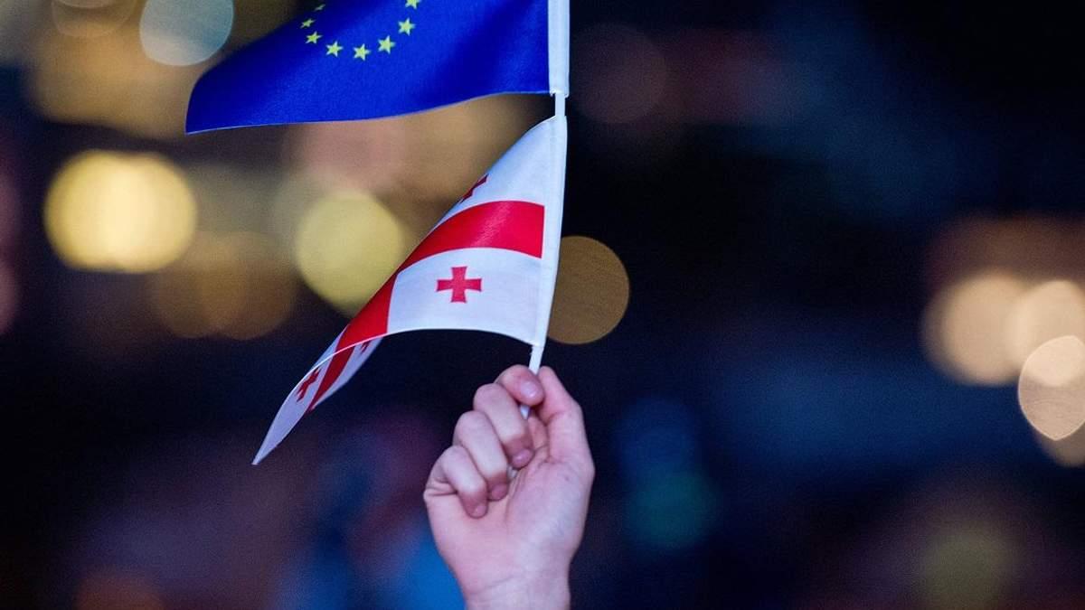 Грузія почала триденні святкування безвізу з Євросоюзом