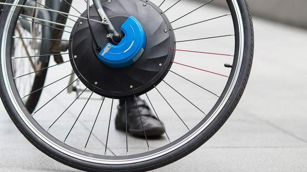 Инновационное колесо, которое превратит обычный велосипед в электробайк