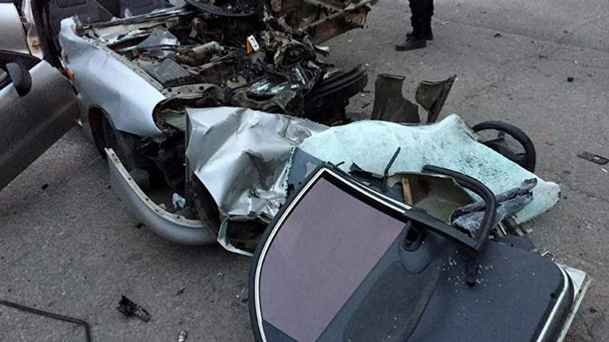 """Руководитель """"Ощадбанка"""" попал в кровавое ДТП: от авто почти ничего не осталось"""