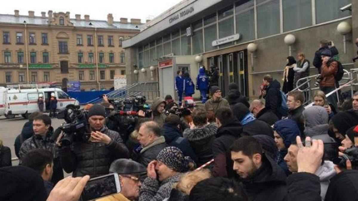 Взрыв в Петербурге признали терактом
