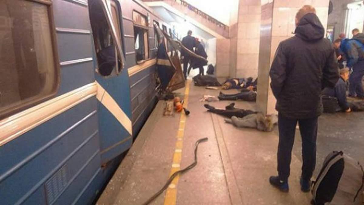 Изуродованные тела и нечеловеческие крики: метро Петербурга за секунды после взрыва (видео 18+)