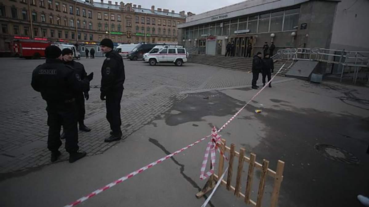 Уродженця країни СНД підозрюють у теракті в Санкт-Петербурзі