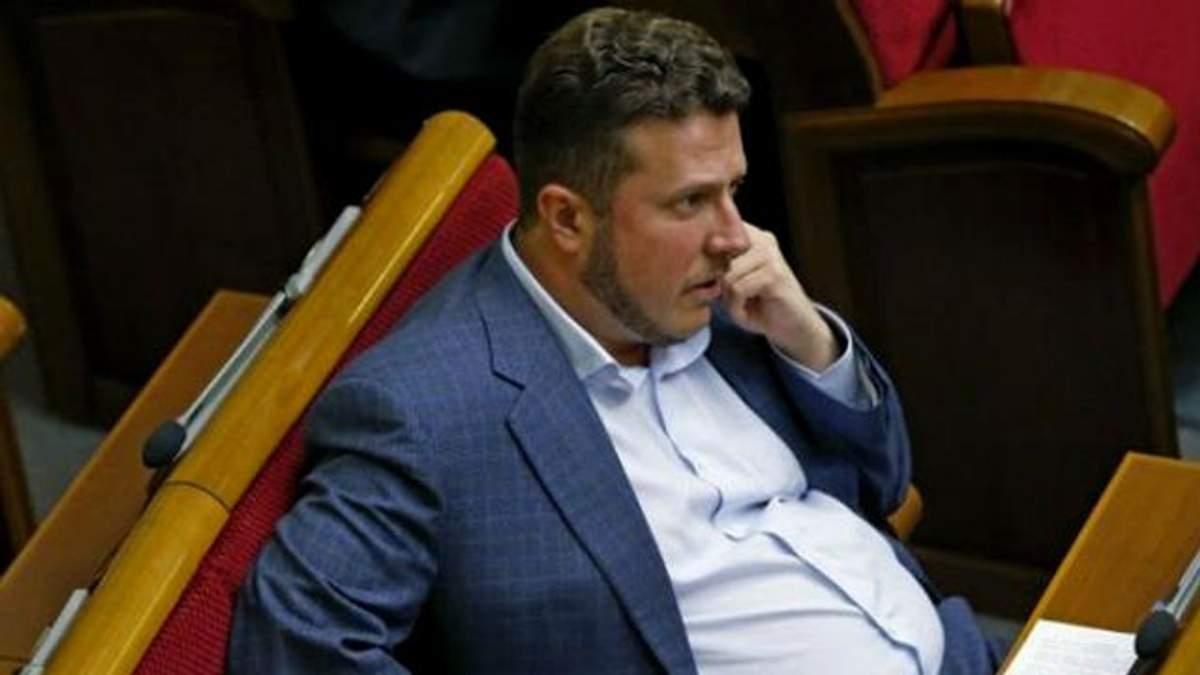 """Народний депутат від партії """"Відродження"""" Антон Яценко"""