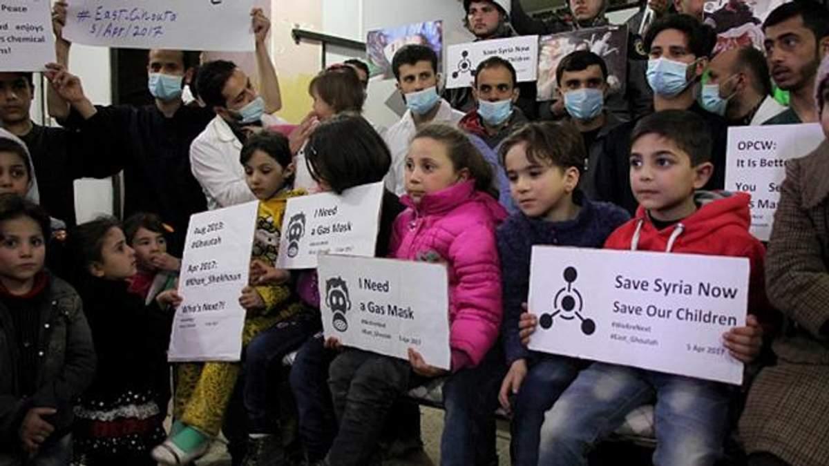 Росія не дала засудити звірства проти мирного населення у Сирії за допомогою хімічної зброї