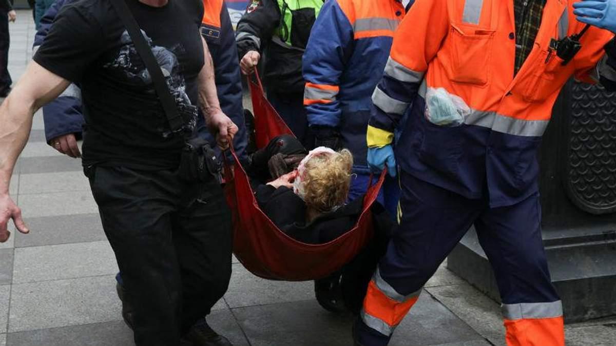 Теракт в метро Петербурга: затримали вже 8 підозрюваних