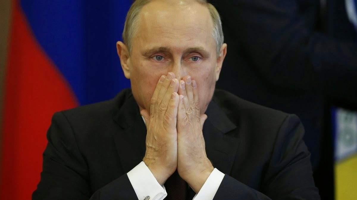 Владимир Путин проиграл две войны за два года