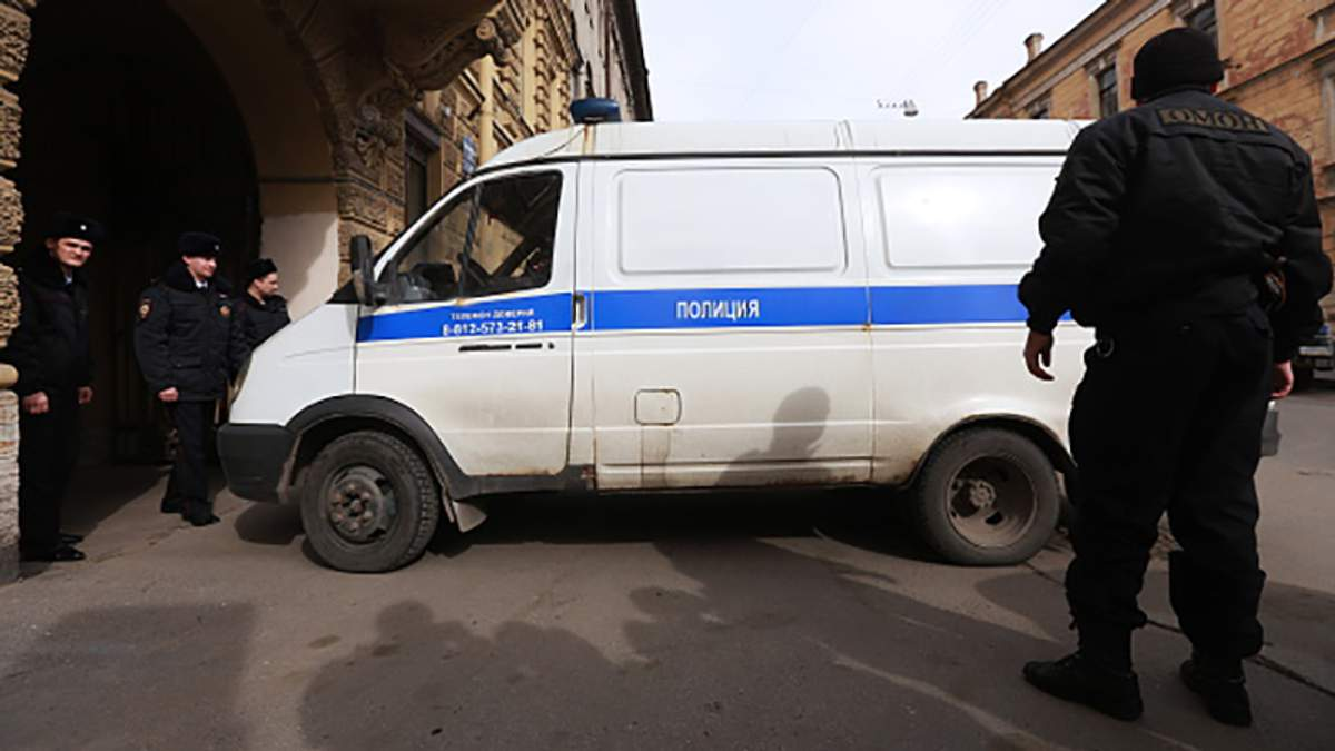 У Росії ФСБ затримала одного з організаторів вибуху у метро Санкт-Петербурга