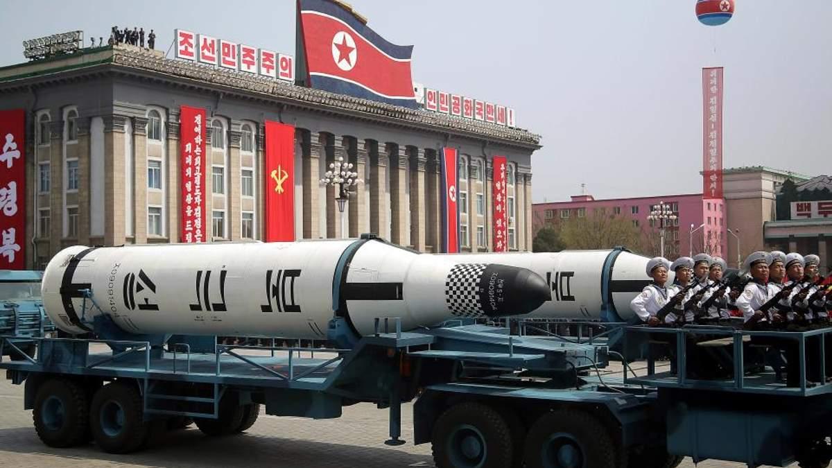 Ракети в КНДР