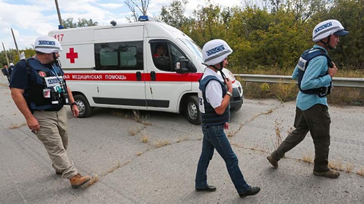 Геращенко рассказал, из-за чего взорвалось авто СММ ОБСЕ на Донбассе