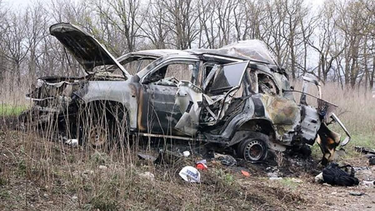 Держдепартамент США прокоменутвав підрив авто СММ ОБСЄ на Донбасі