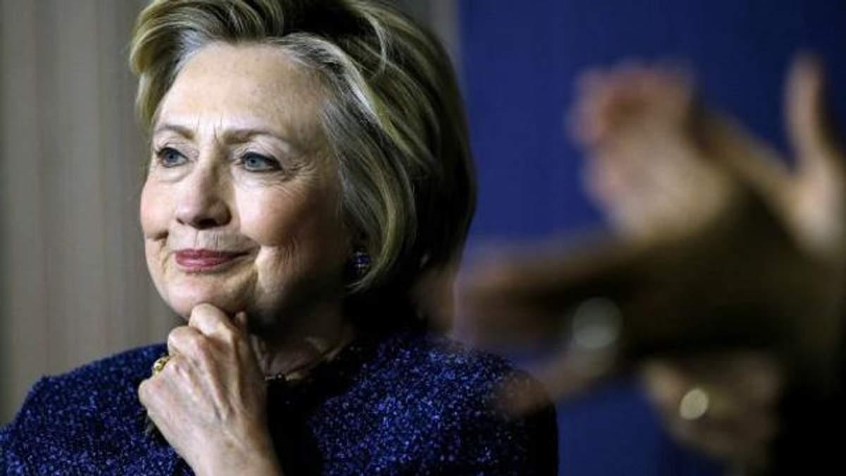 Клінтон розповіла, що завадило їй стати президентом США