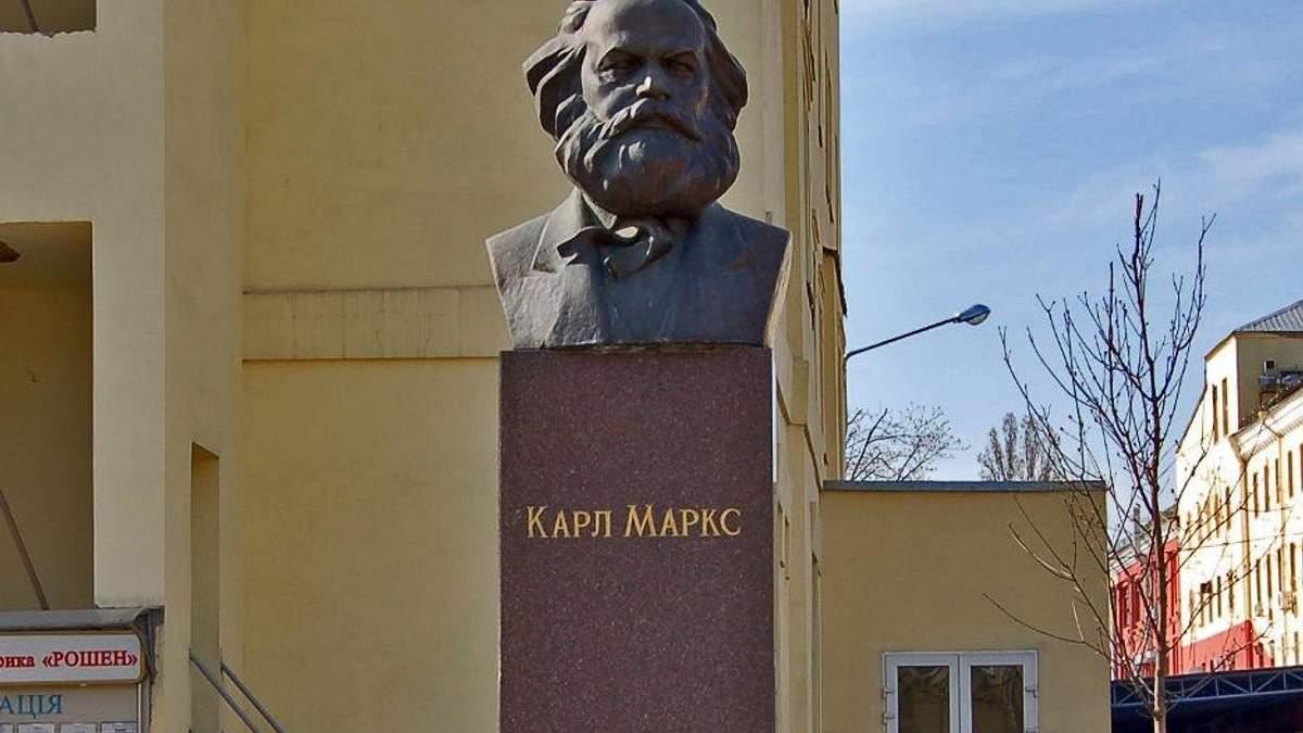 """Памятник Марксу на территории фабрики """"Рошен"""" должен быть демонтирован, – Вятрович"""