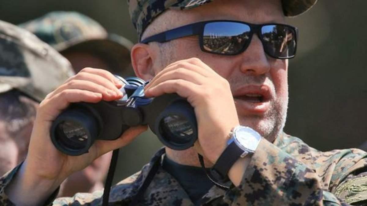 Турчинов рассказал, как Россия готовит наступательные операции на Польшу и Литву