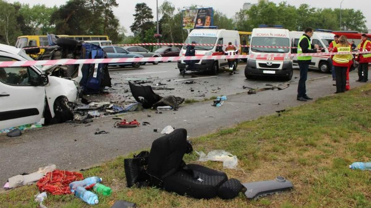 Три человека погибли в страшном ДТП в Киеве: обнародовали жуткие фото