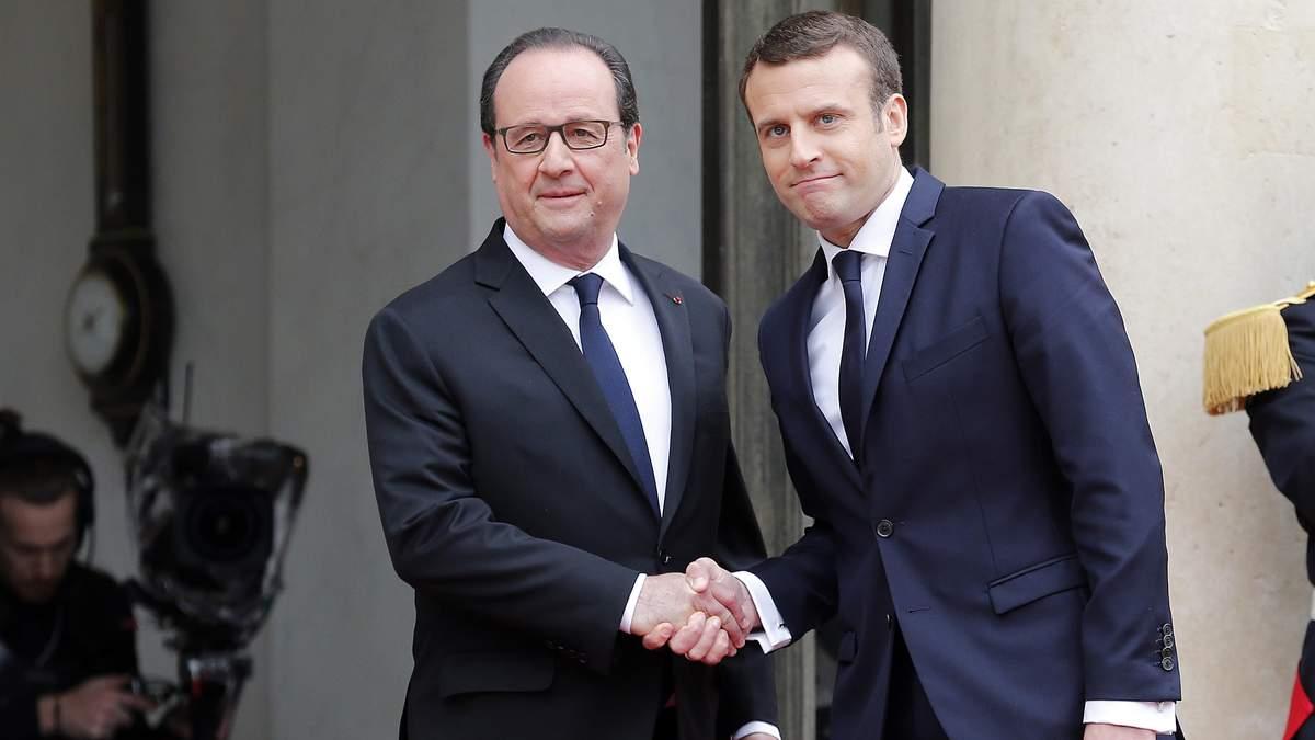 Макрон офіційно вступив на посаду президента Франції