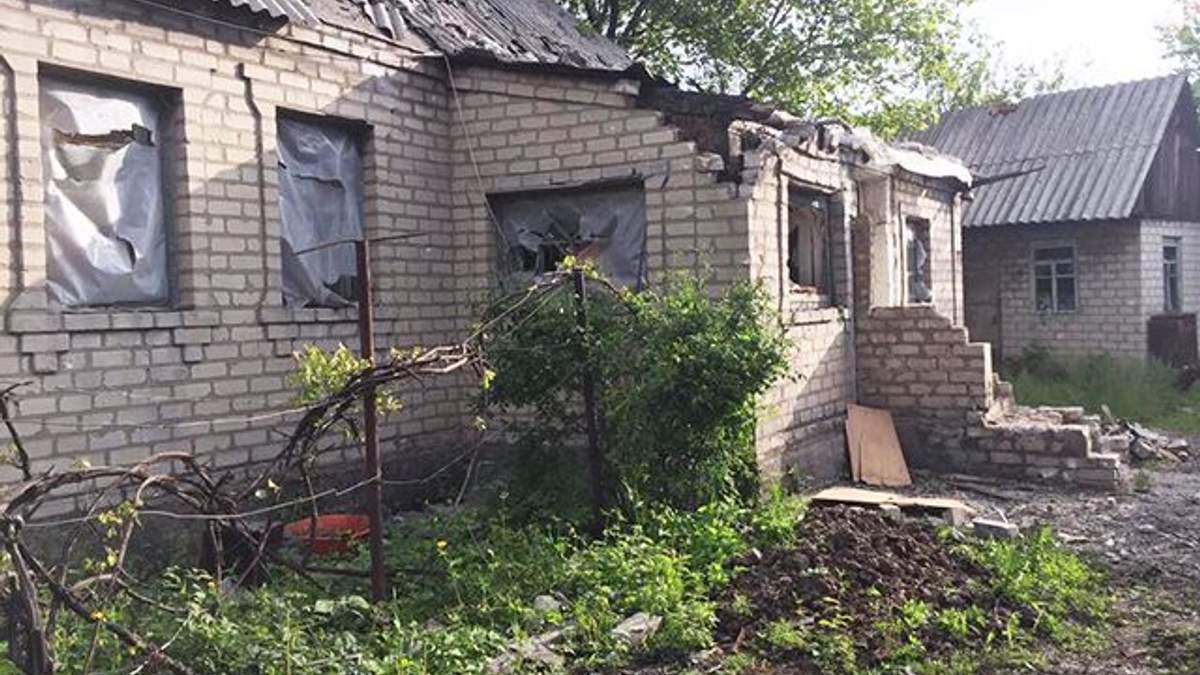 В Авдіївці житлові будинки потрапили під обстріл бойовиків