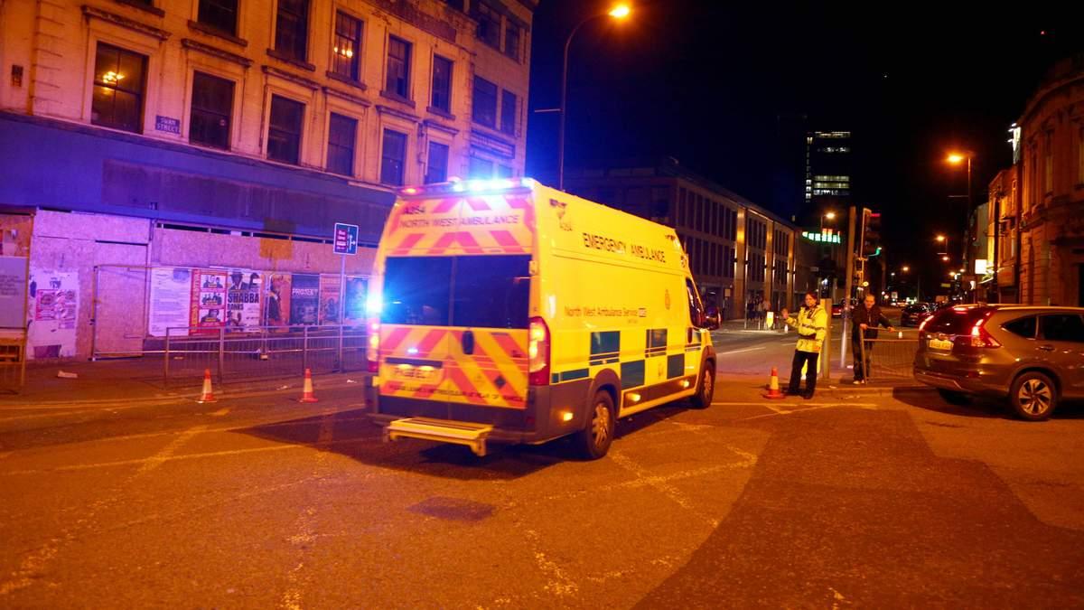 Взрыв прогремел на Manchester Arena, когда люди собирались выходить
