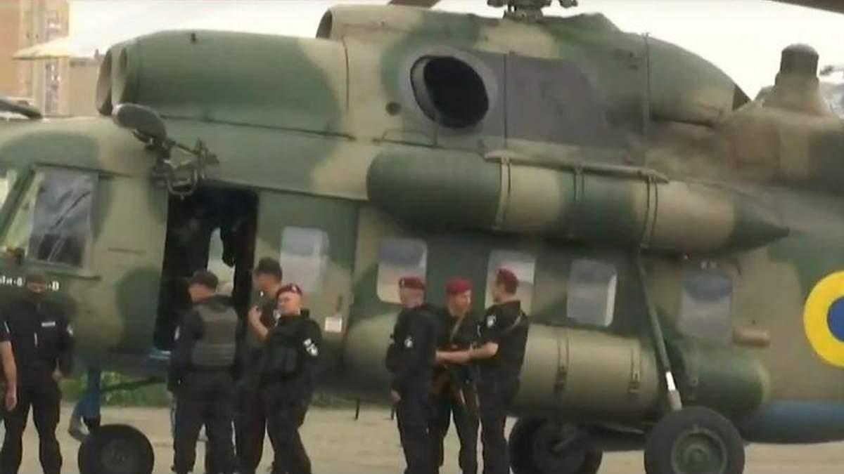 Наймасовіша спецоперація в Україні: затриманих доставили вертольотами: відео
