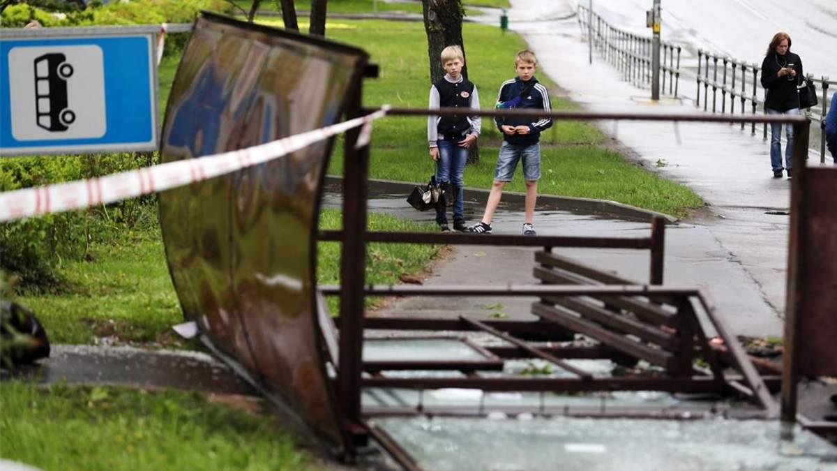 Кількість загиблих від урагану у Москві зросла: померла дитина