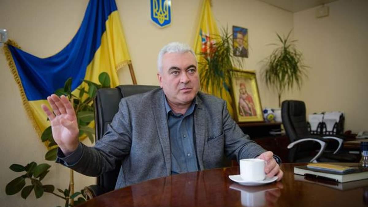 Мэр украинского города получил подозрение в совершении преступления