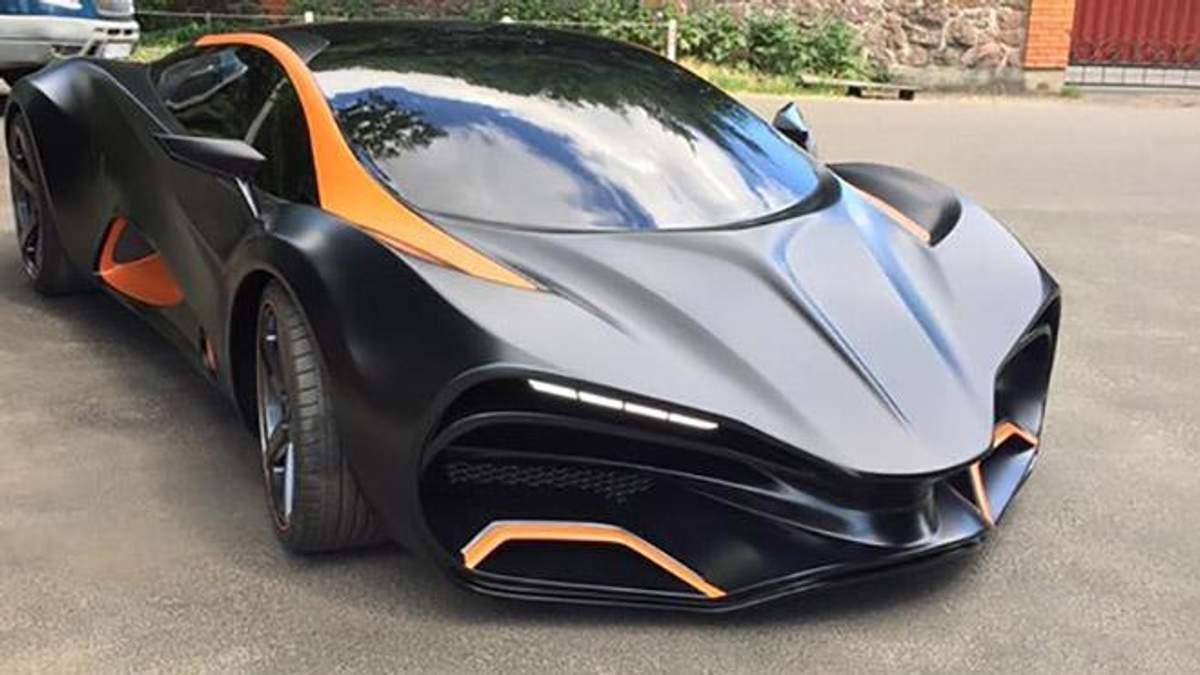 Украинец создал спорткар, которому нет аналогов в мире