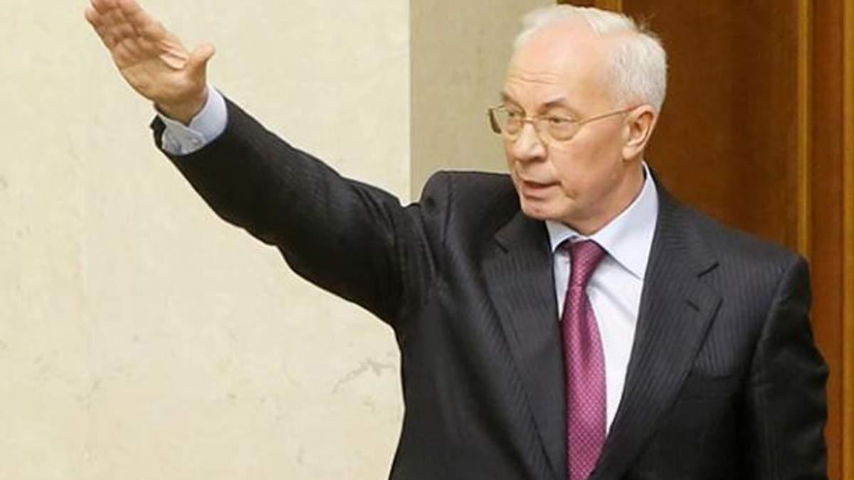 Азаров брудно висловився про безвізовий режим України з ЄС