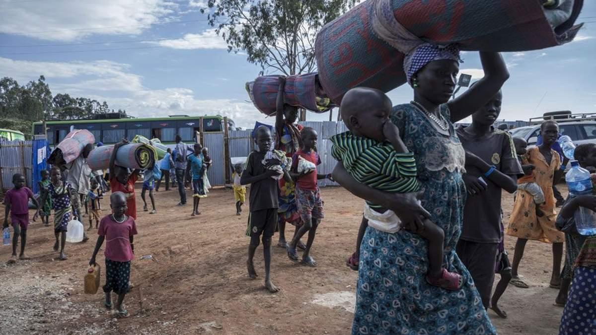Біженці з Південного Судану