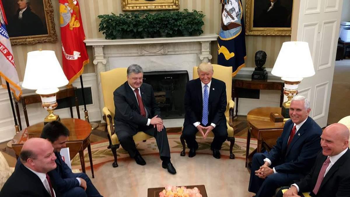 Зустріч Трампа з Порошенком не матиме значення, якщо корупція в Україні продовжиться