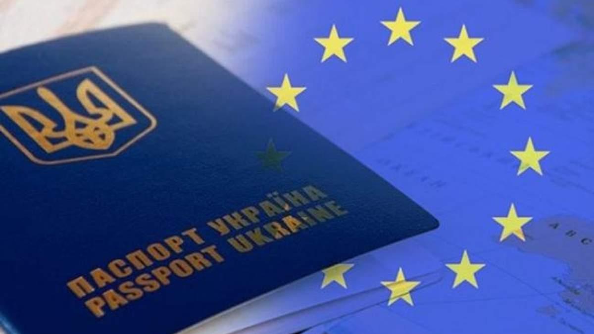 Названо число украинцев, которые считают введение безвиза между Украиной и ЕС совсем неважным