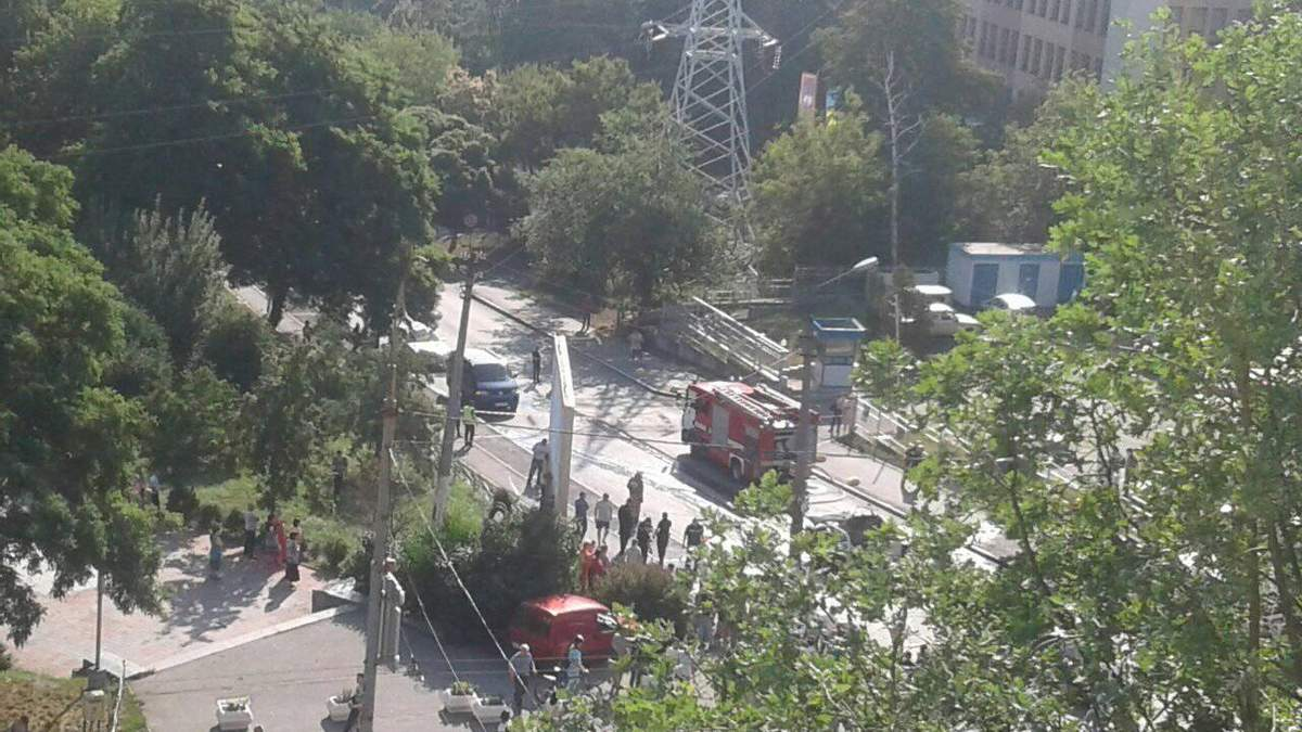 Вибух автомобіля у Києві: фото авто після вибуху