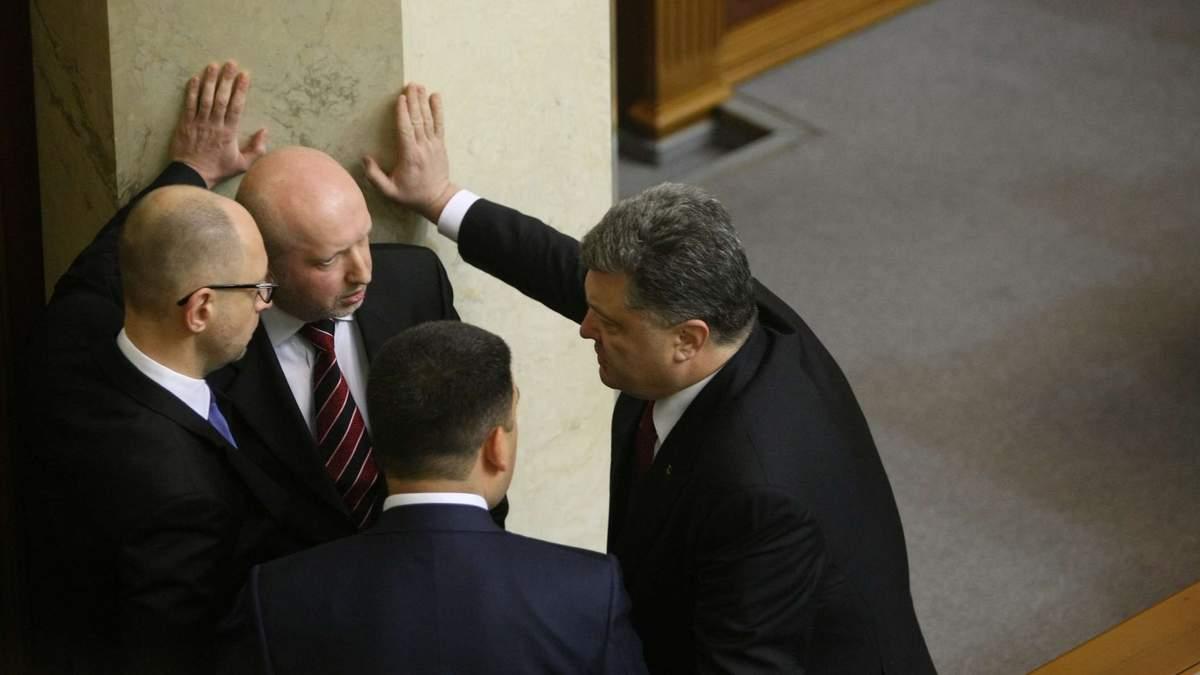 Полотические разборки внутри Украины