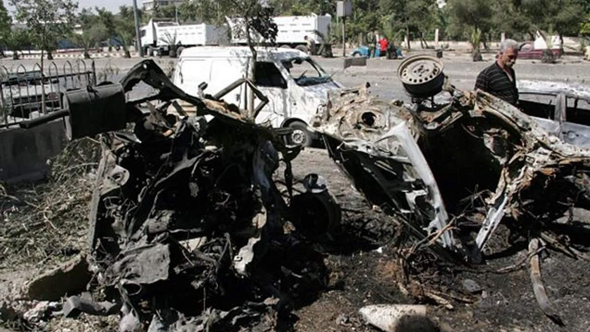 Теракт в Сирії: в Дамаску смертник підірвав авто