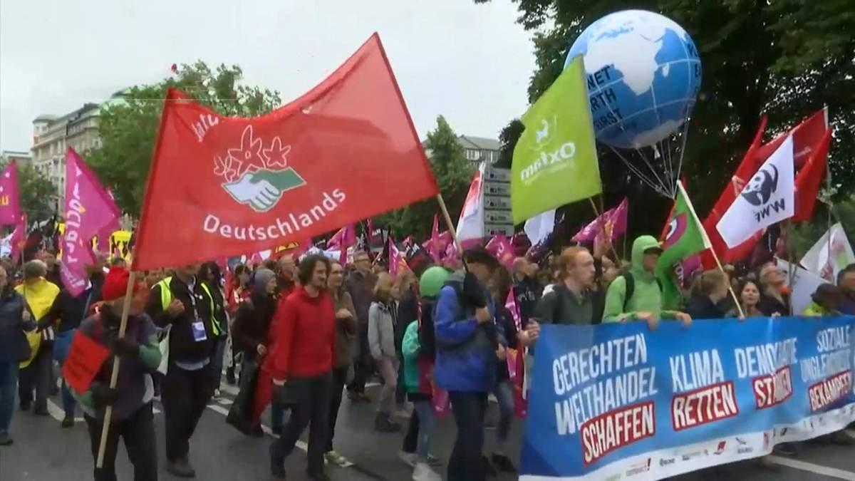 Протест у Гамбурзі