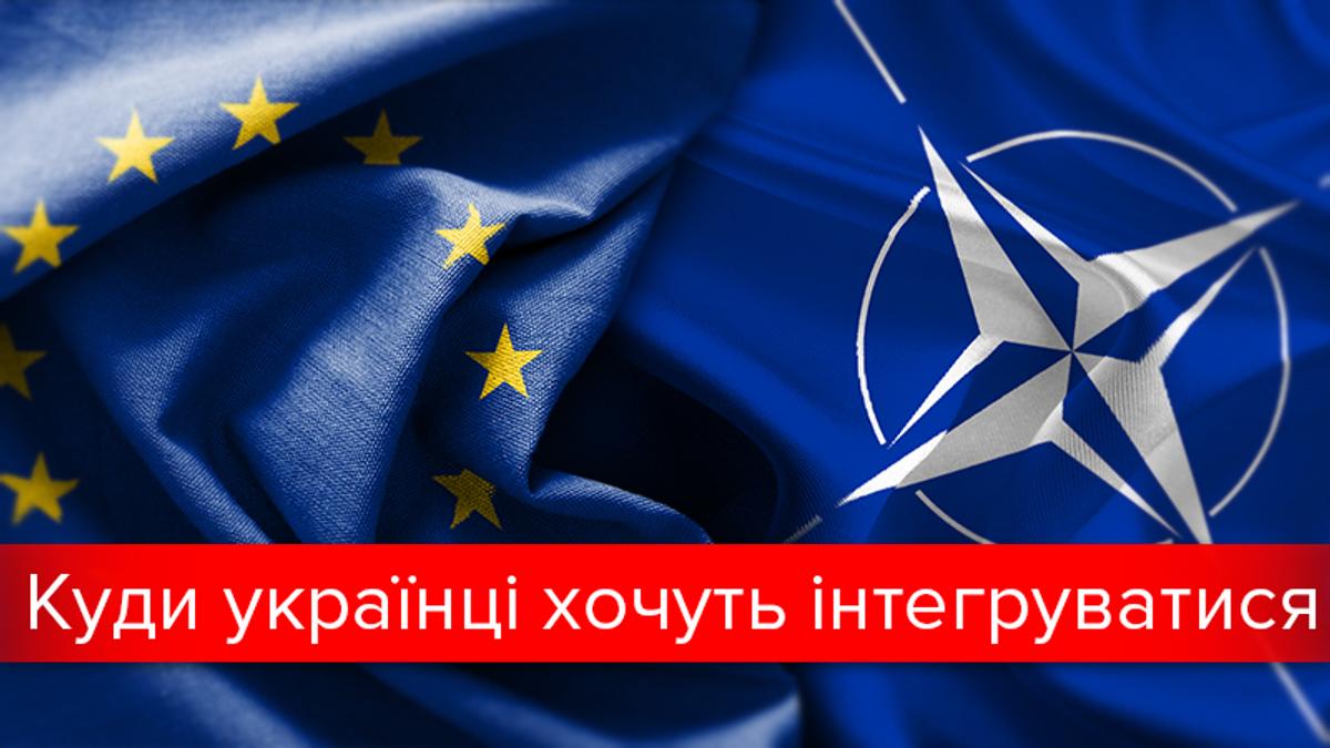 Кожен другий українець підтримує вступ в ЄС