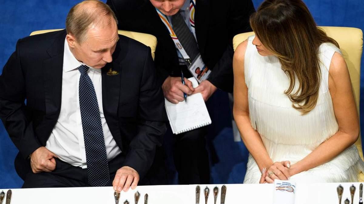Мелания Трамп пыталась спасти мужа от Путина