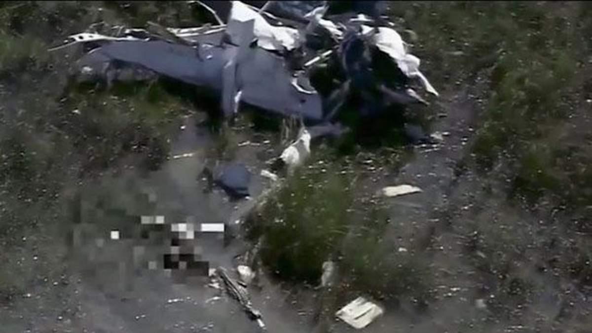 Крокодил з'їв пілота літака, який зазнав катастрофи