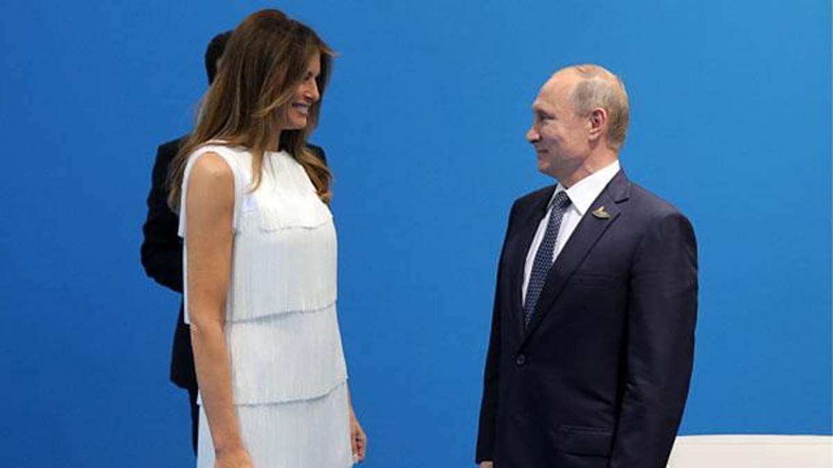 Фото Путина и Мелании Трамп порадовало интернет-пользователей